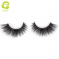 GHAIR 3D Mink Lashes Cancer Style 100% Mink Fur Handmade False Eyelashes