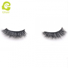 GHAIR 3D Mink Lashes Taurus Style 100% Mink Fur Handmade False Eyelashes