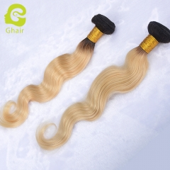 10A 2 bundle 100% virgin human hair body wave 1b/613#