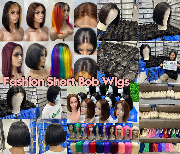 Fashion Short Bob Wigs